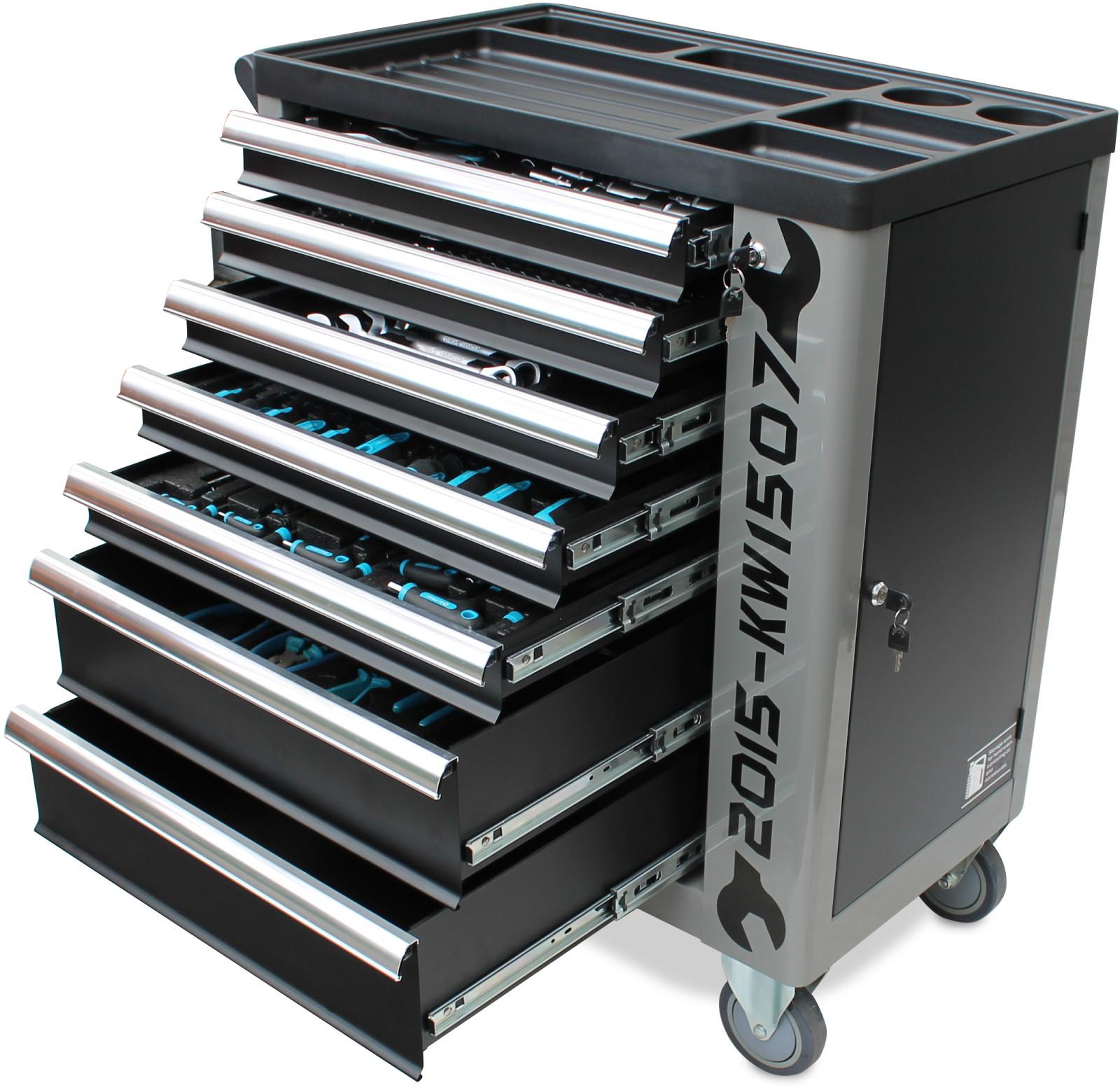 werkzeugwagen werkstattwagen werkzeugkiste werkzeugkasten tool box cart chest ebay. Black Bedroom Furniture Sets. Home Design Ideas