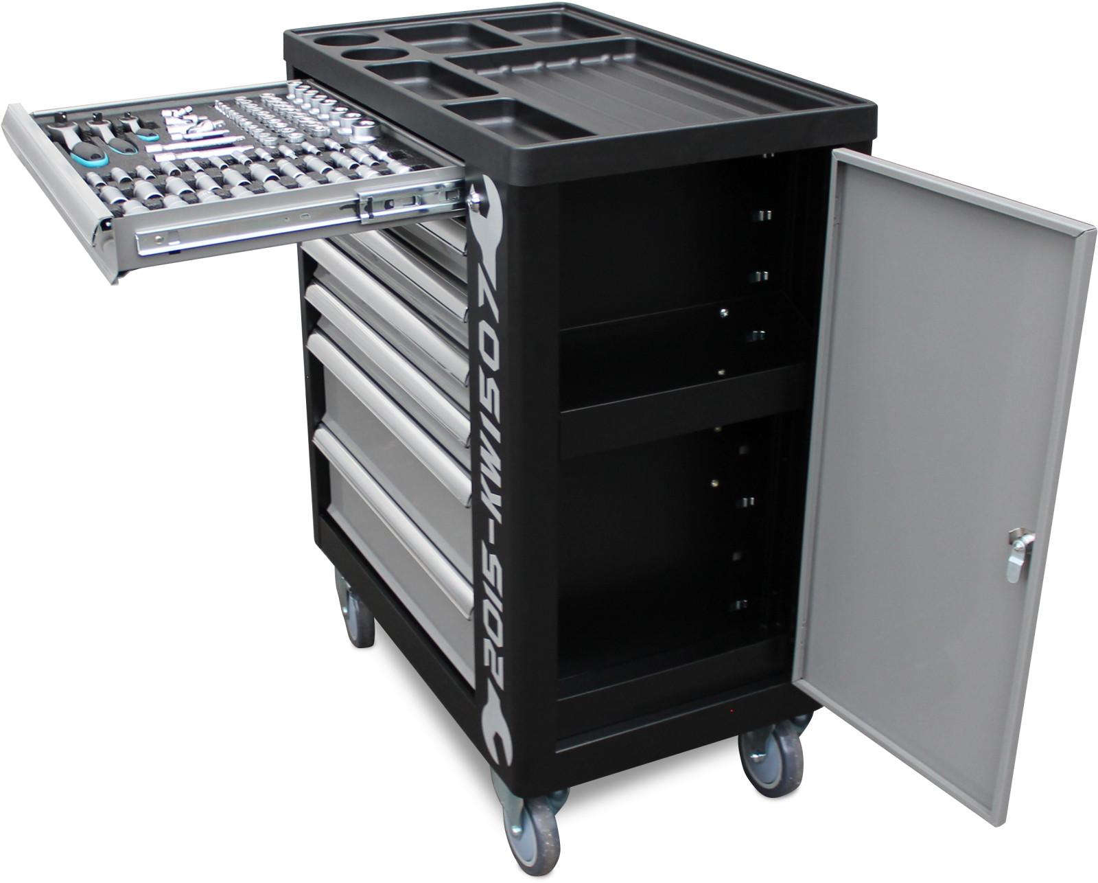 werkstattwagen inkl werkzeug werkzeugkiste werkzeugwagen werkzeugkasten box ebay. Black Bedroom Furniture Sets. Home Design Ideas