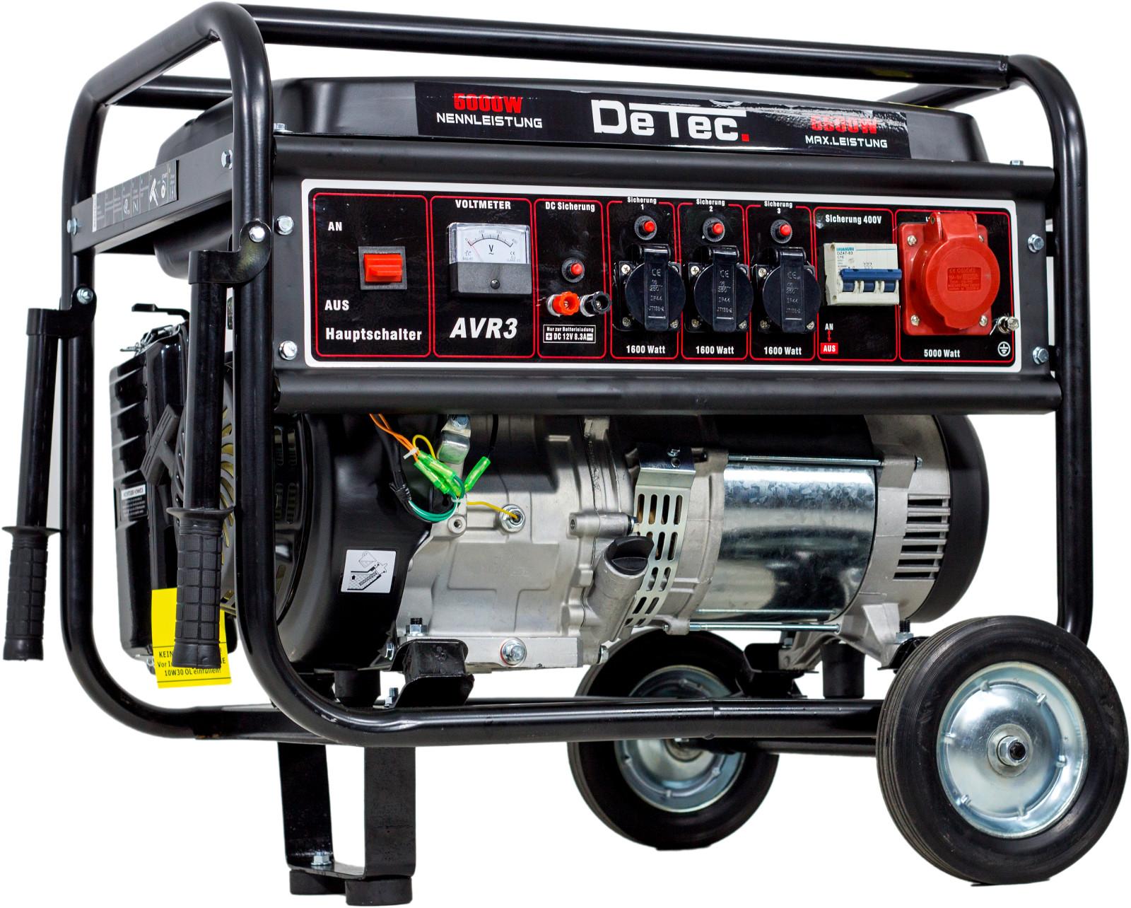 Stromerzeuger Benzin Notstrom Aggregat Stromgenerator 5,5kW ...